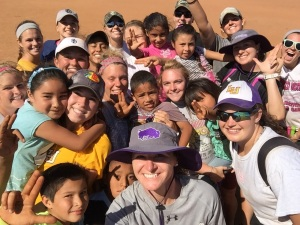 Lipscomb Softball in Canton BC Mexico