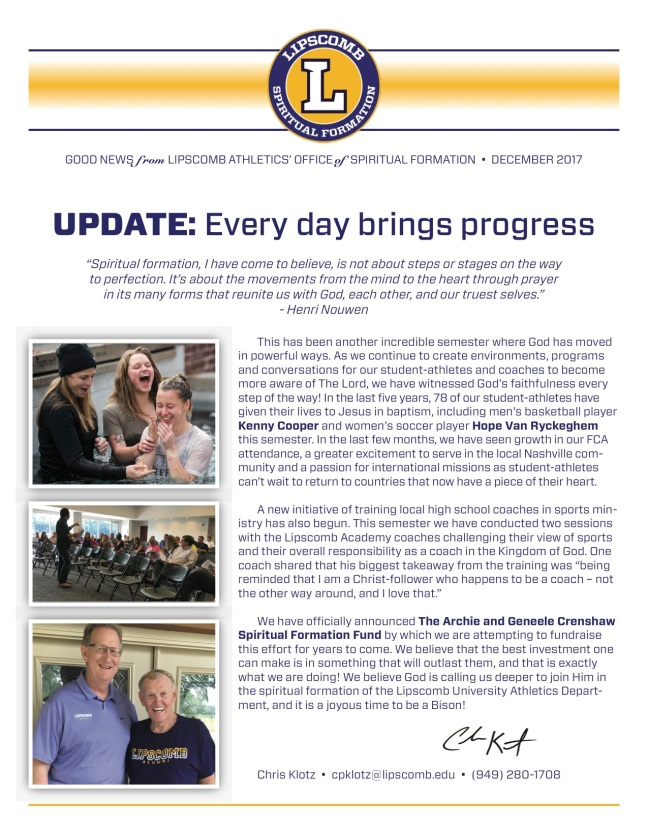 Dec 2017 Newsletter Copy